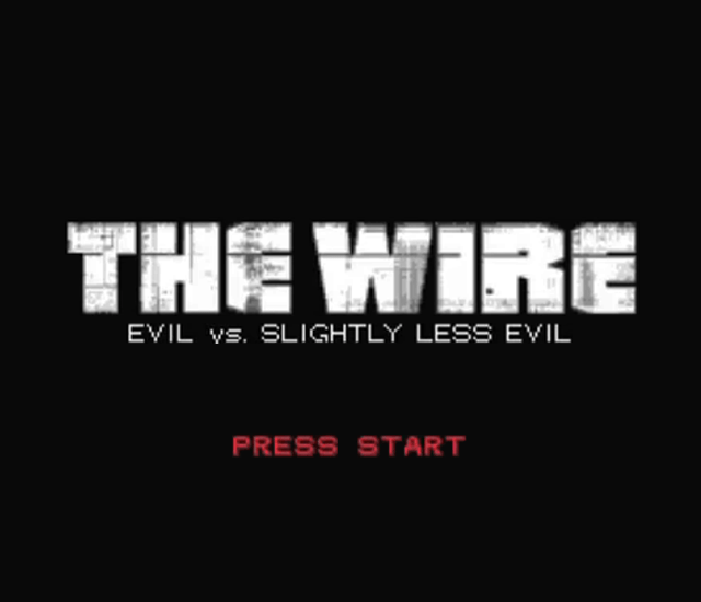 CollegeHumor Original - The Wire RPG