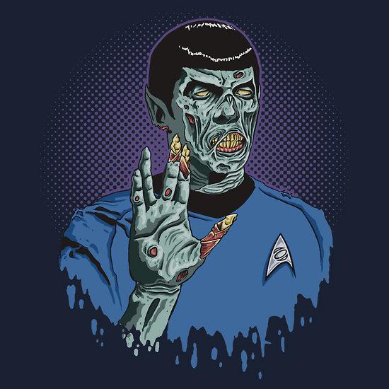 Zombie Spock