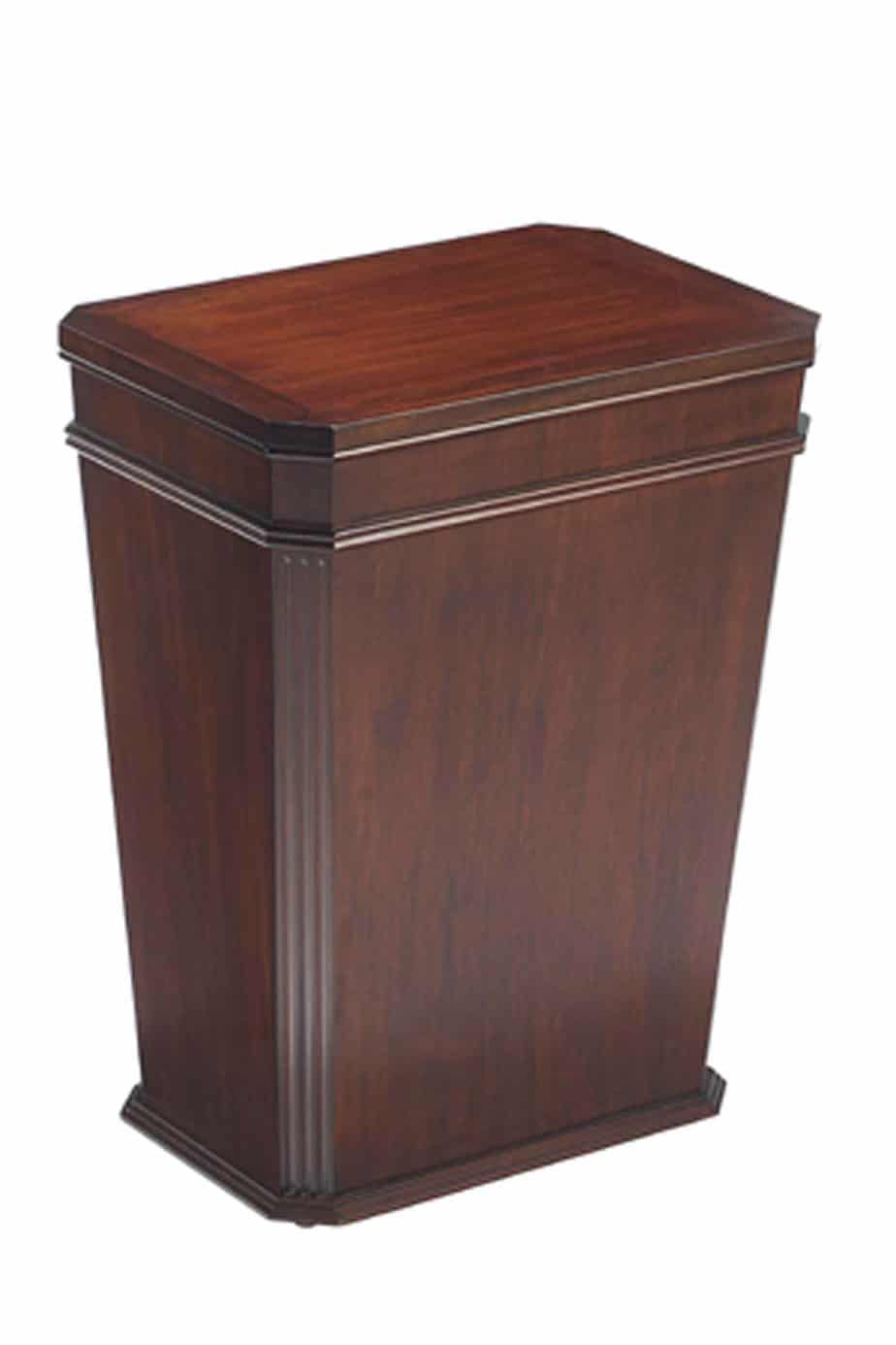 Luxury Laundry Hamper Luxury Mahogany Hamper High End Fine Detail Laundry Shoppe