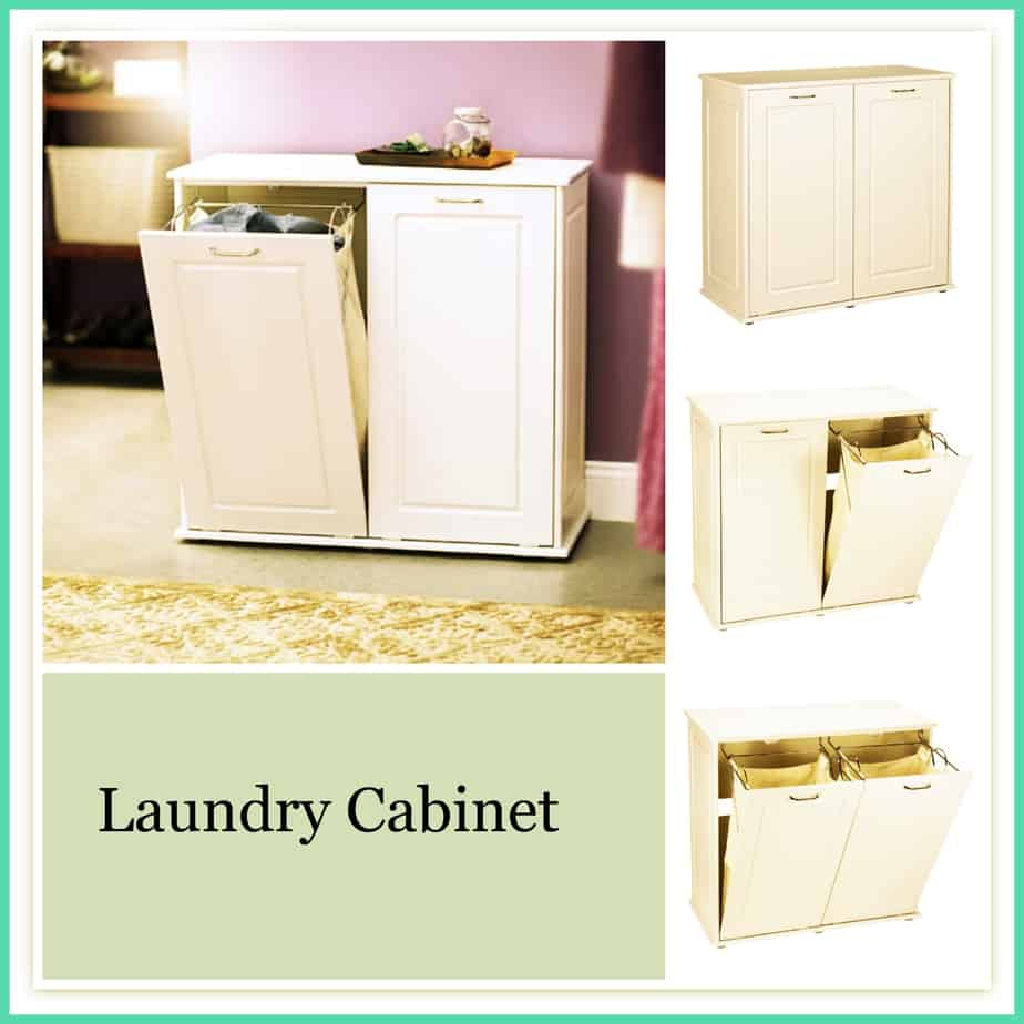 Laundry hamper cabinet tilting hamper laundry shoppe