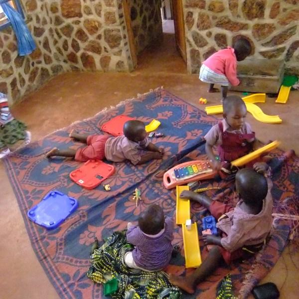 Chaos im Kindergarten