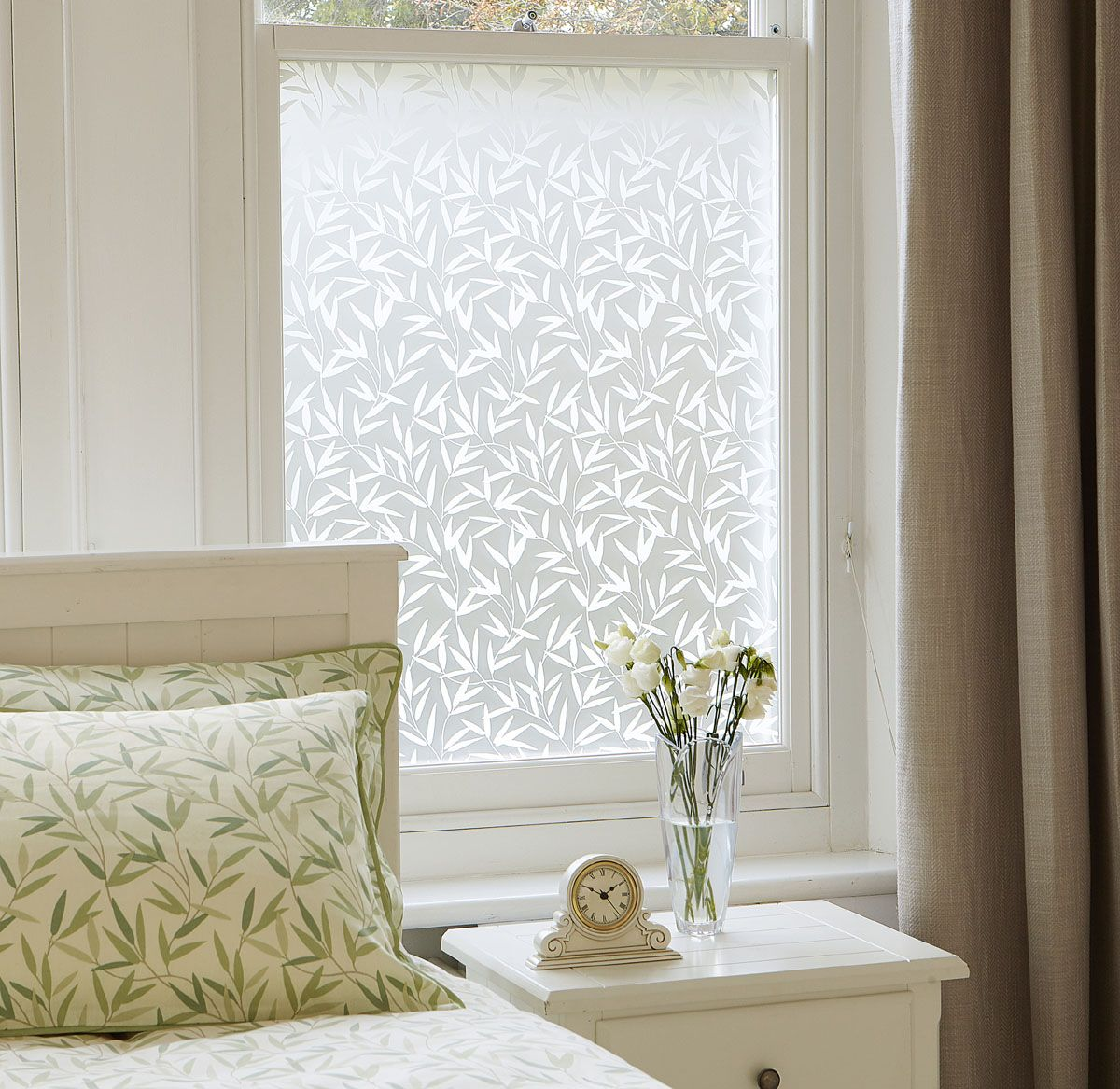 Vinilos Ventanas Vinilo Para Ventana Willow Leaf Laura Ashley Decoración