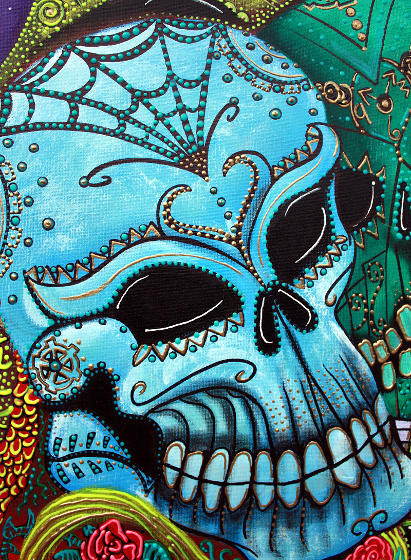 Cute Dia De Los Muertos Wallpaper Calaveras Heart Of Art Blog
