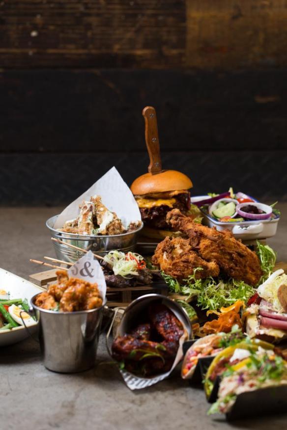 Dive bar Manchester new menu launch event - Laurakatelucas manchester lifestyle blogger