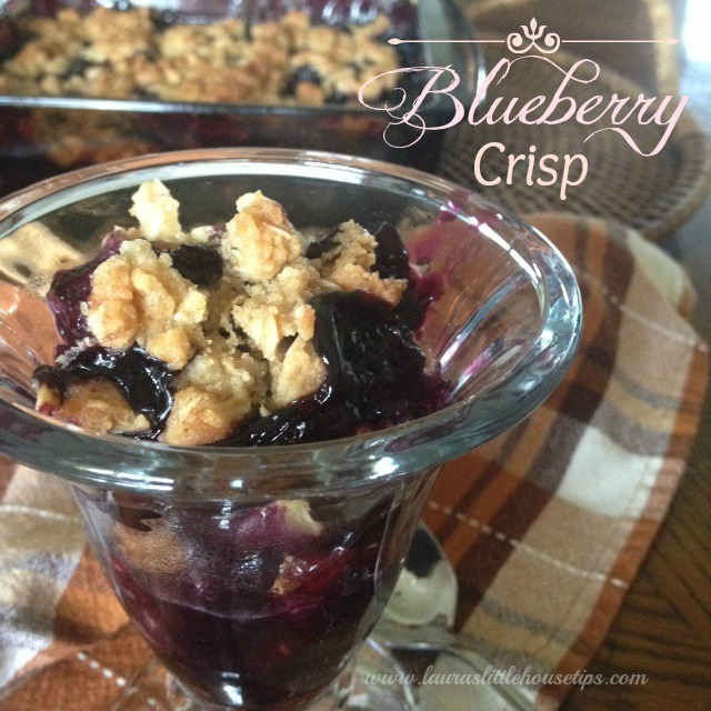 Blueberry Crisp Recipe - Berries Bring Easy Desserts To The Table!