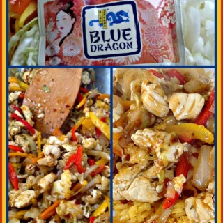 Make your own Asian Take Out Food in 8 minutes or Less! Collage