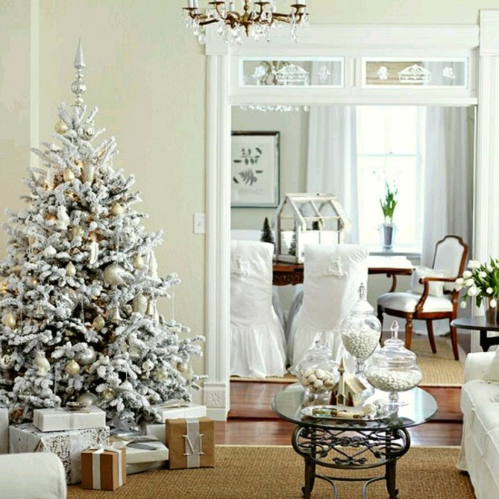Laurel Bern Interiors List for 2013 of 22 Magical Christmas Trees - simple christmas tree decorating ideas