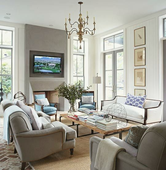 Have You Seen These Popular Living Rooms on Pinterest? - laurel home - pinterest living rooms