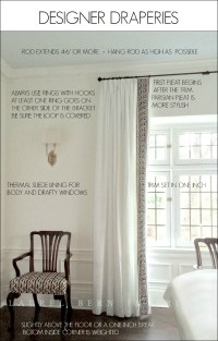 How To Get Window Treatments Like You See In Magazines ...