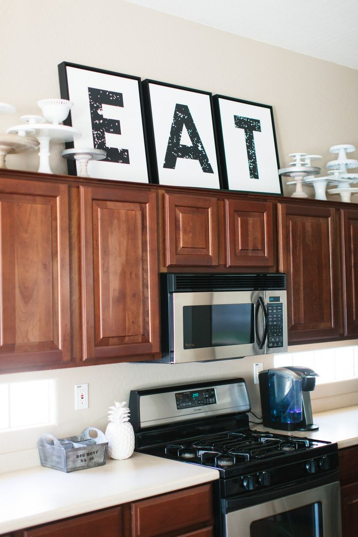 Calmly And Tricks You Need To Know Decorating Above Cabinets Laurel Home Tuscan Kitchen Decor Above Cabinets Vintage Decor Above Kitchen Cabinets kitchen Kitchen Decor Above Cabinets