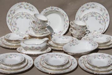 SaveEnlarge · Antique Haviland Limoges China 95 Piece Dinnerware Set & Antique China Dinnerware Sets - Castrophotos