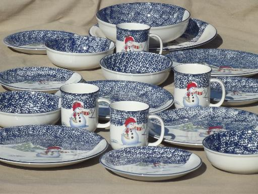 Snowman Dinnerware Sets & Snowman Dinnerware Sets - Castrophotos