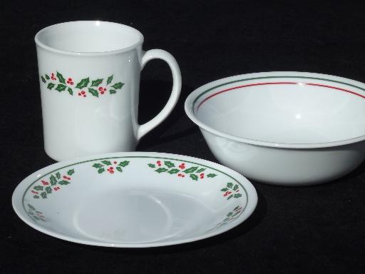 Vintage Pictures Of Corelle Dish Patterns & Corelle Christmas Dinnerware Sets - Castrophotos