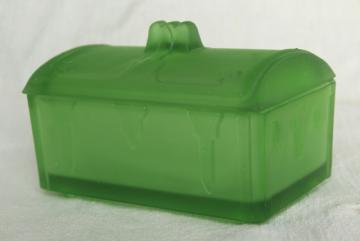 Vintage Glassware Aqua Cobalt Blue Green