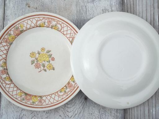 Vintage Usa Royal China Americana Tiffany Pottery & Tiffany Dinnerware - Castrophotos