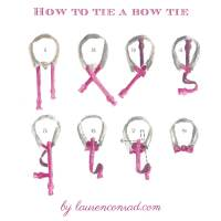 Odds & Ends: How to Tie a Tie & Bowtie - Lauren Conrad