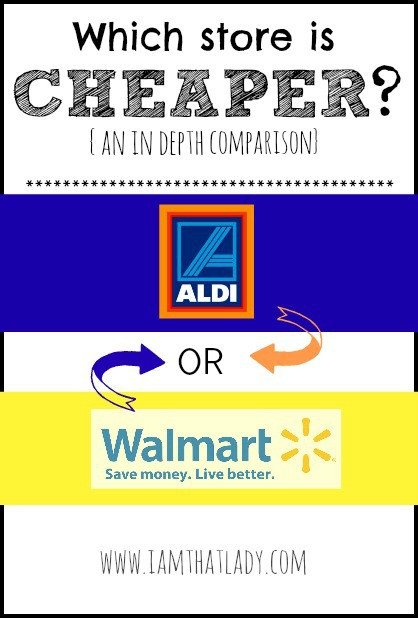 Aldi vs Walmart - which one is really less expensive than the other