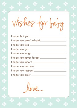 Small Of Baby Shower Wishes