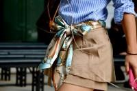 15 Stylish Ways to Wear a Silk Scarf   Lauren Messiah