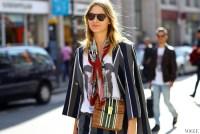 15 Stylish Ways to Wear a Silk Scarf | Lauren Messiah