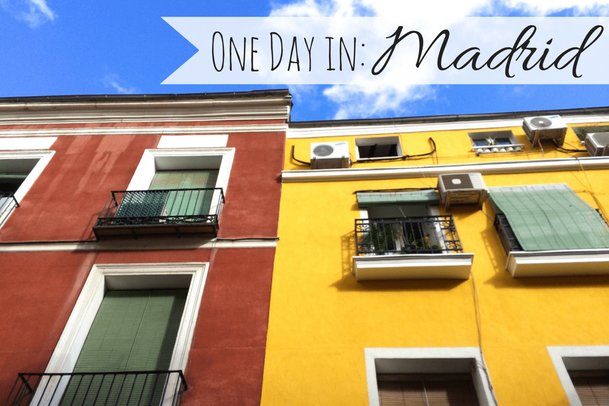 One Day in: Madrid