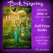 On Book Signings and Meeting Readers