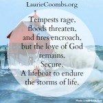 A Lifeboat to Endure the Storms of Life