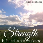 Do We Need to Rid Ourselves of Our Weaknesses?