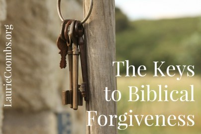 Keys to Biblical Forgiveness