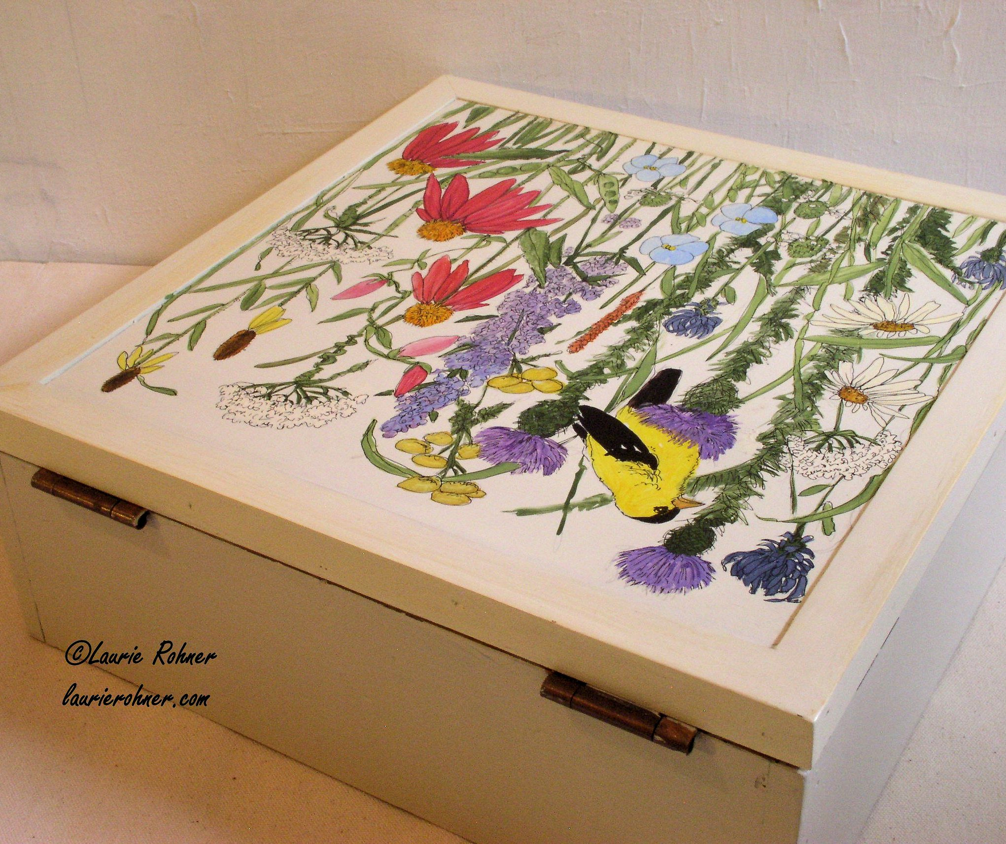 Botanic Soldes Sold Botanical Painted Furniture Nature Box Cottage