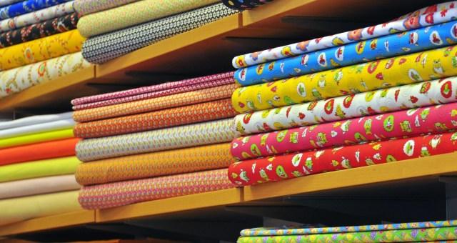 image stacks of fabric
