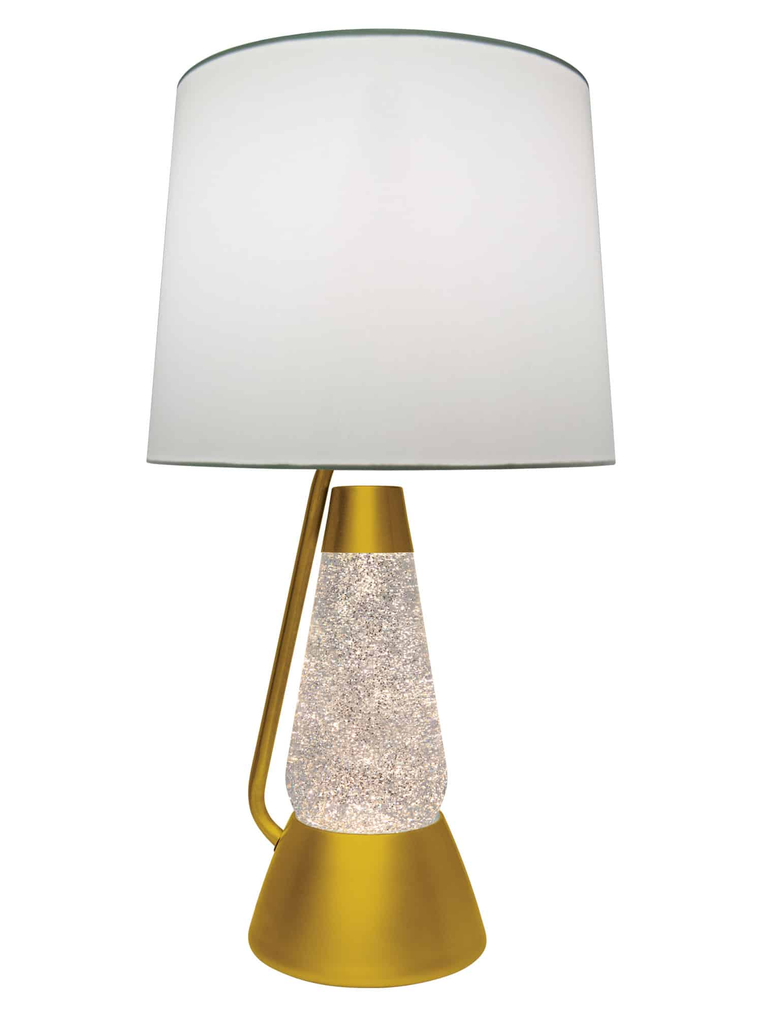 Liquid Lamp 3115 Gold Glitter With Clear Liquid Motion Lamp Lava Lamp