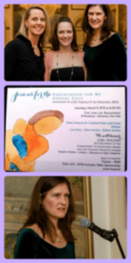 Lori Holden keynotes at Parenthood for Me gala
