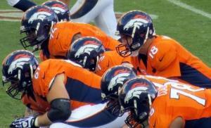Denver Broncos on the line