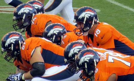 Denver Broncos on the line