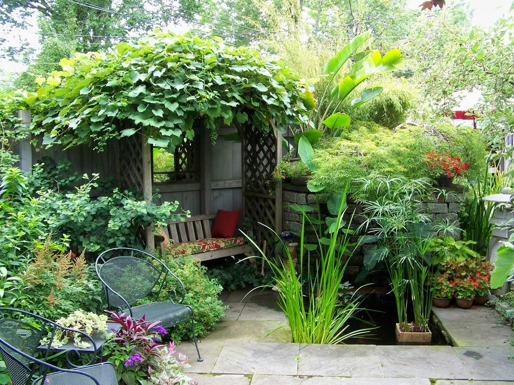 Como Decorar Un Jardin Rustico 25 Ideas De Diseños Rústicos Para Decorar El Patio