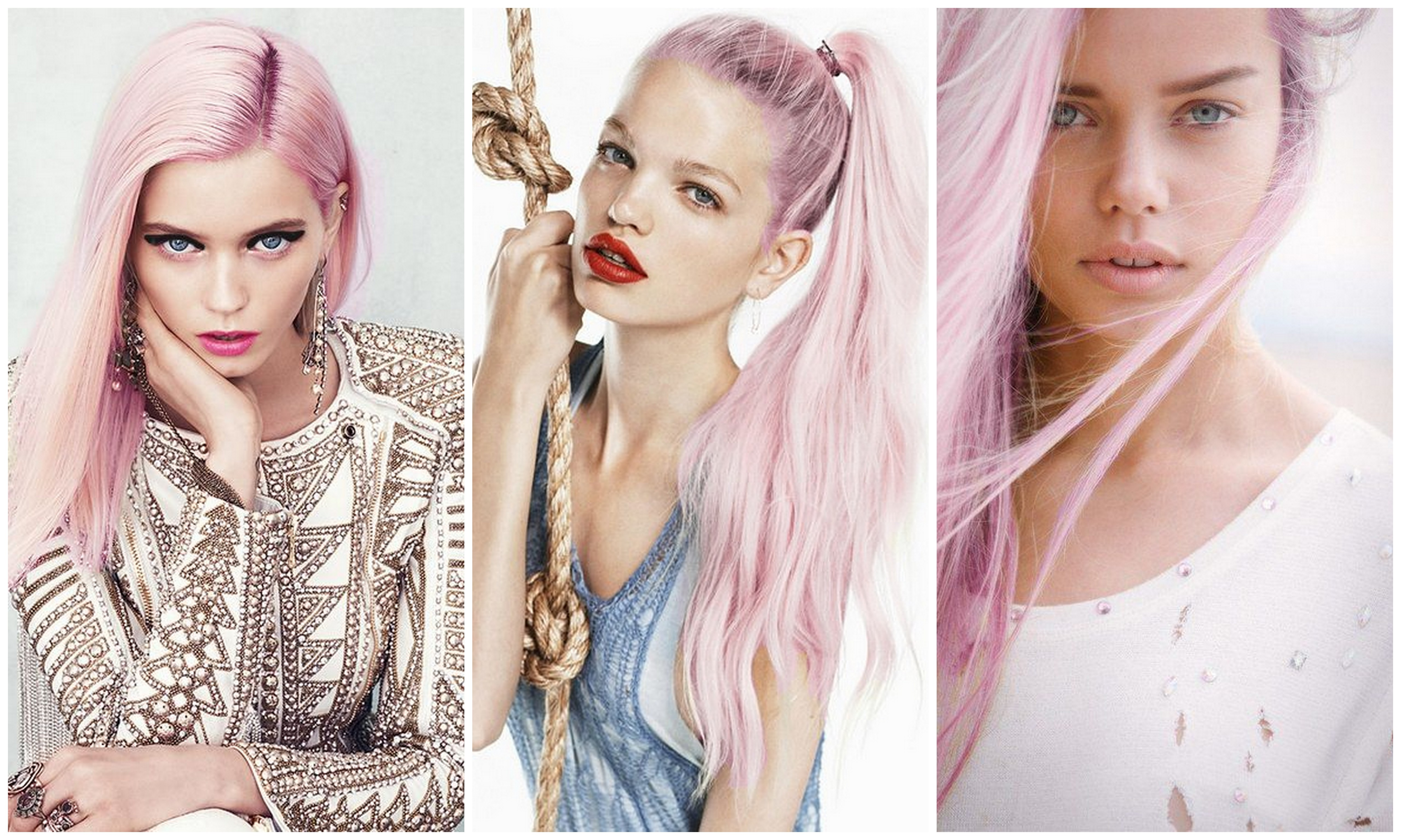 Pasteltinten Haar Obsessed With Pastel Pink Hair La Viesagista