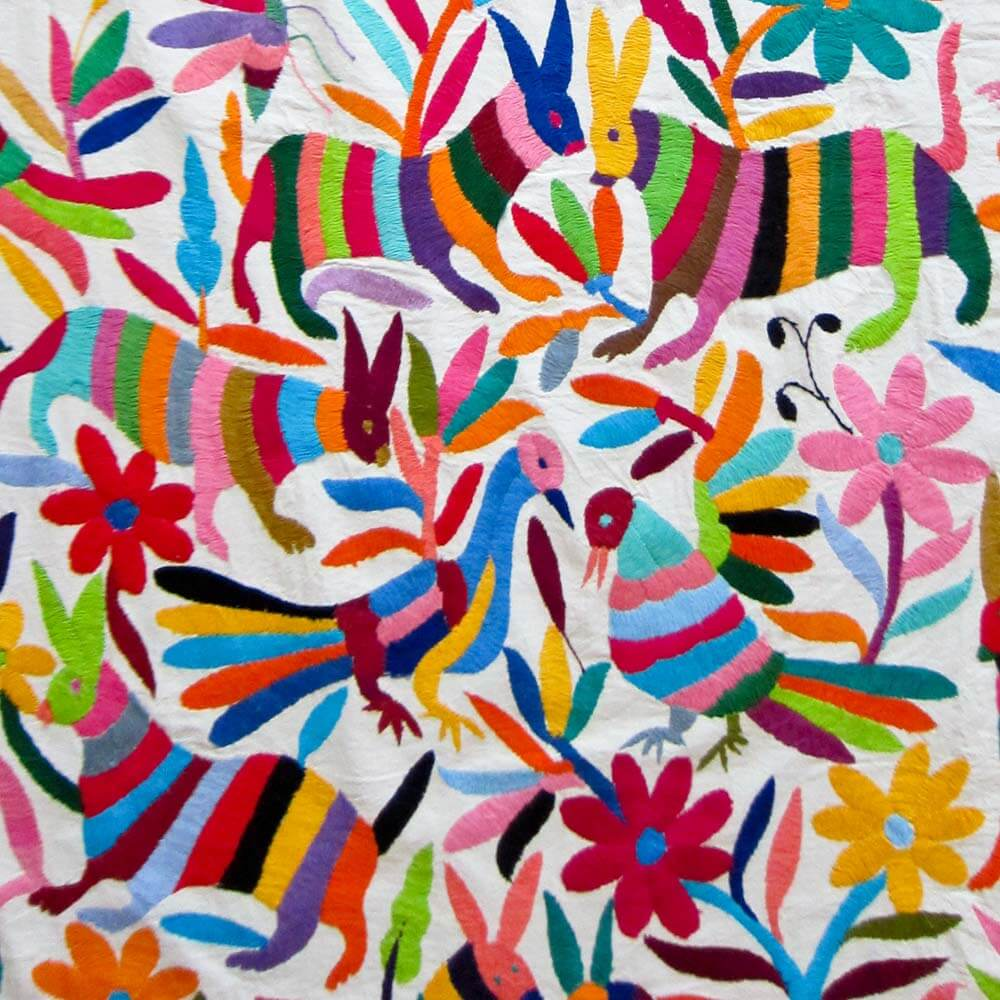 Coverlets For Sale Otomi Coverlets Multi Color
