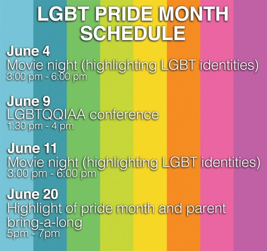 Pride month activities planned for June by De Anza LGBT community
