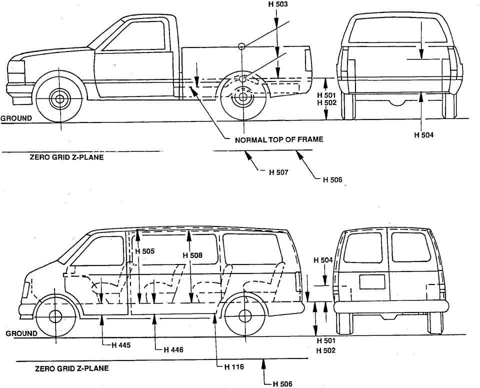 pickup truck box sizes