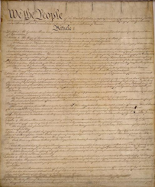 The Constitutional Convention of 1787 in Philadelphia