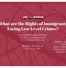 Oct. 19  Webinar: What are the Immigration Consequences of Criminal Offenses?