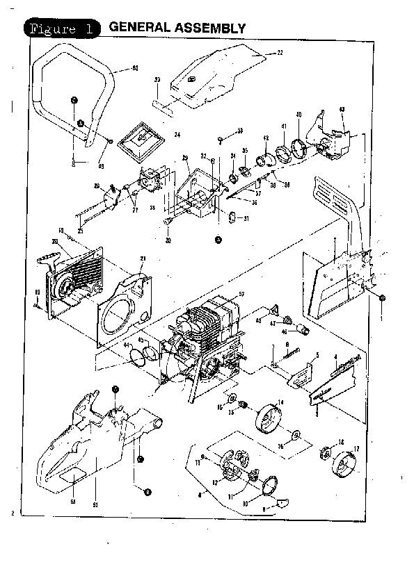 poulan chainsaw manual