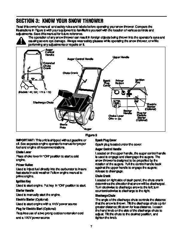 yard machines owners manual auto electrical wiring diagram MTD Snow Blower Manuals mtd yard machines 140 e173 snow blower owners manual