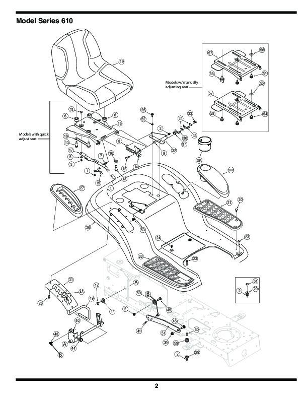 diagram parts list for model 136q695g000 mtdparts ridingmower
