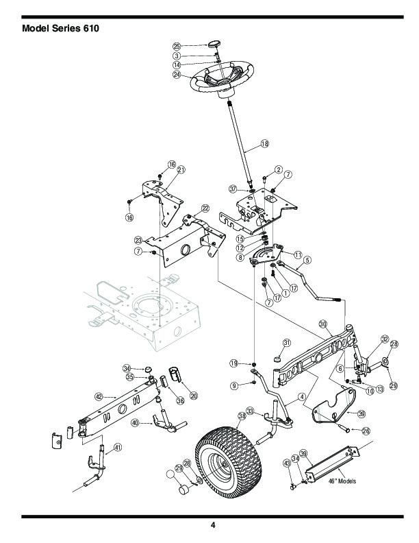 diagram parts list for model 144v834h401 mtdparts ridingmower