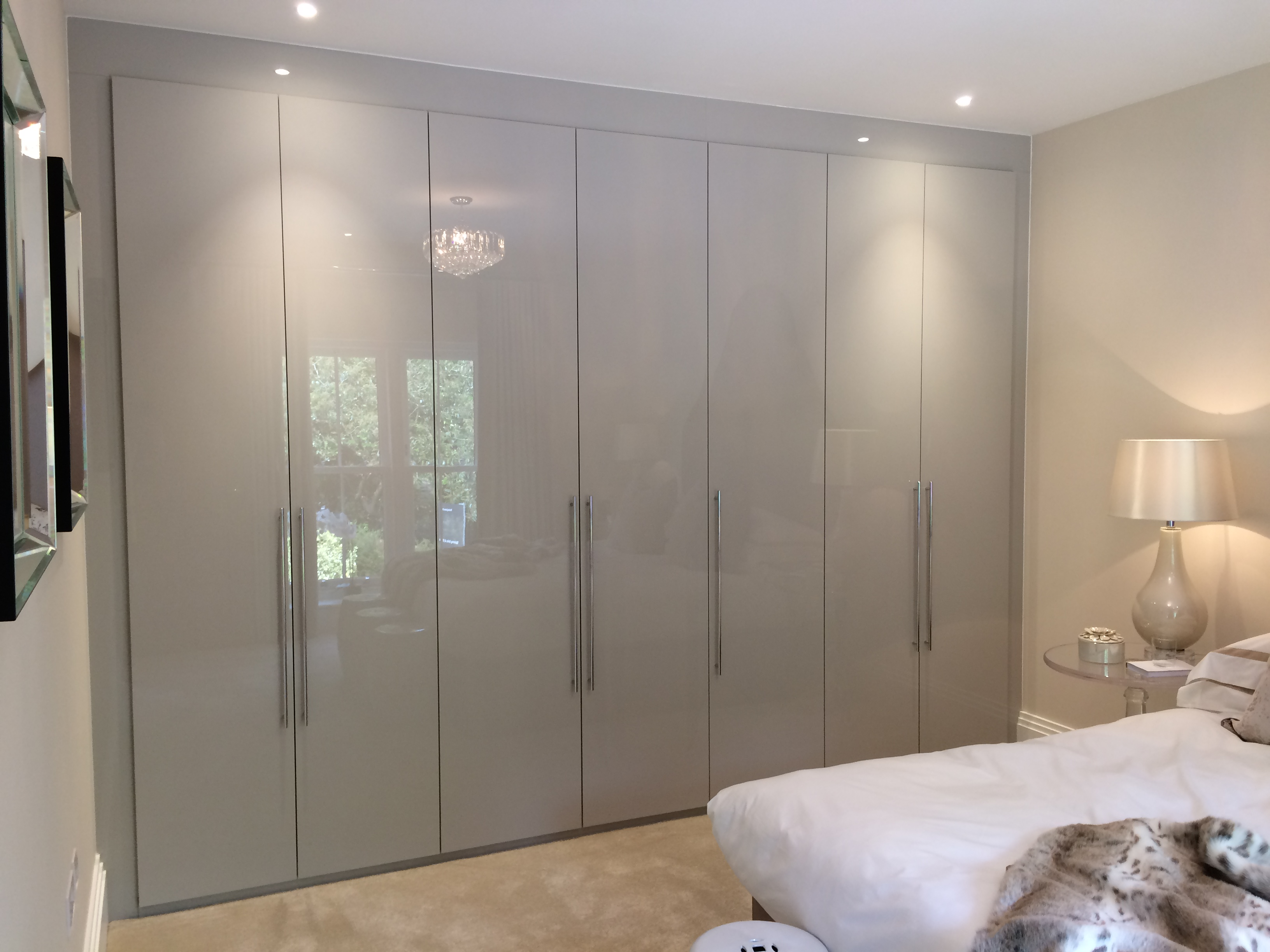 Grey And White Wardrobe Special Buy Fitted Bedroom Furniture Wardrobes Uk