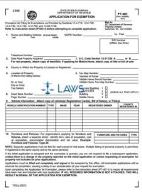 Form PT-401 Application for Exemption - Property Tax Forms ...