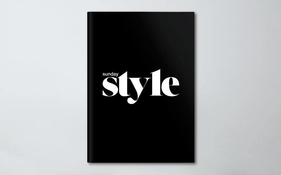 Sunday Style Magazine \u2013 Brochure  Marketing Presentation \u2014 Layfield