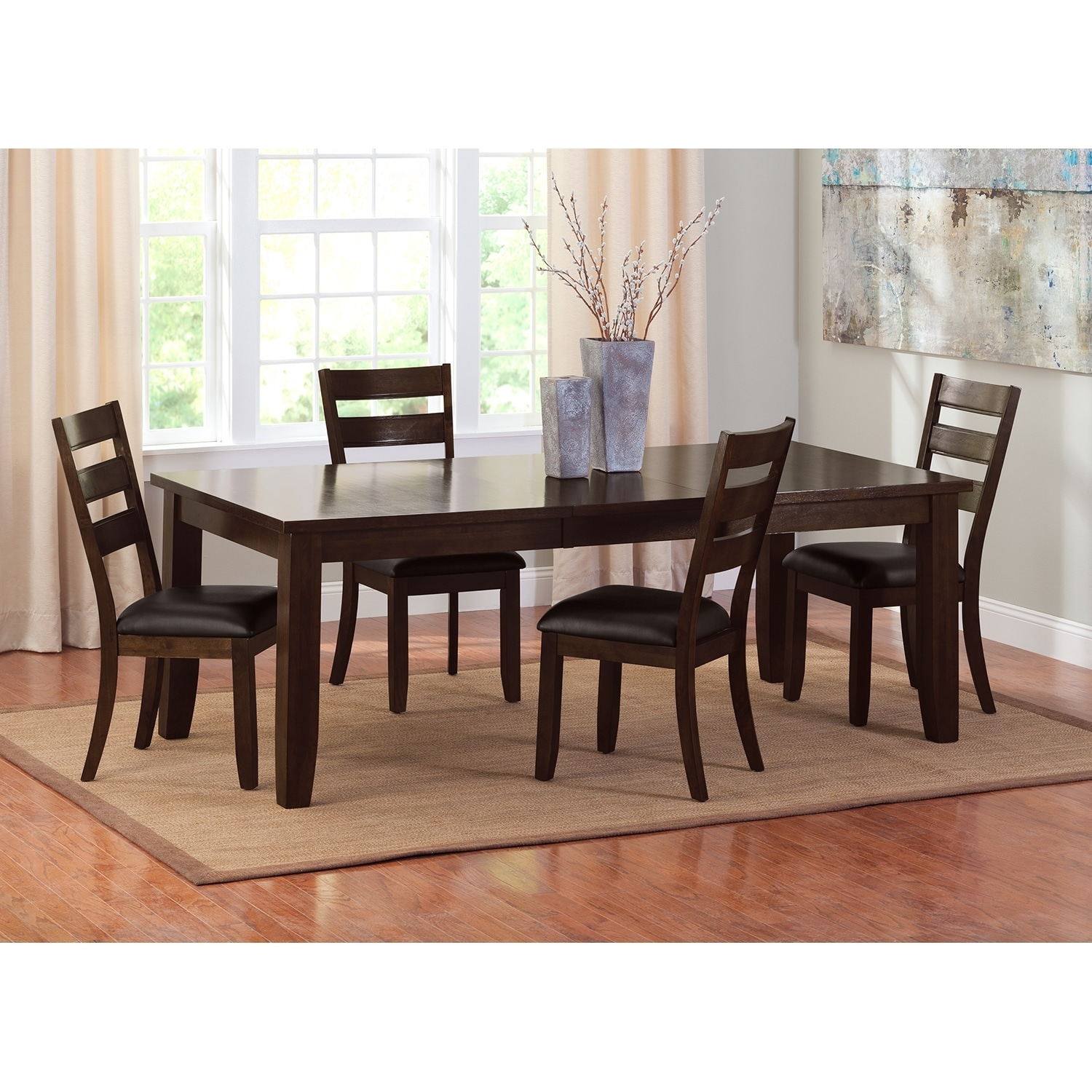 Abaco Dining Room Table Value City Furniture Leather Dining Chairs Layjao